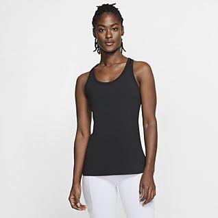 Kvinder Dri FIT Toppe og T shirts. Nike DK