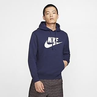 Nike Sportswear Club Fleece Hoodie mit Grafik für Herren