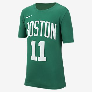 Nike Icon NBA Celtics (Irving) T-shirt de basquetebol Júnior (Rapaz)