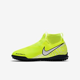 Nike Jr. Phantom Vision Academy Dynamic Fit TF Younger/Older Kids' Turf Football Shoe
