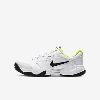 boys nike slip on tennis shoes