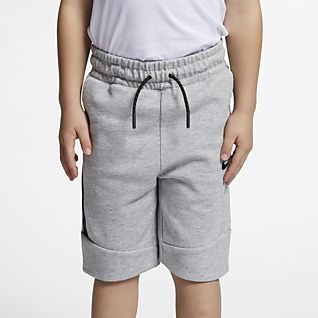Nike Sportswear Tech Fleece Little Kids' Shorts