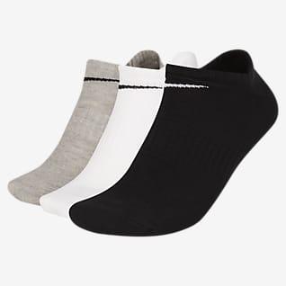 Nike Everyday Lightweight No-Show Antrenman Çorapları (3 Çift)