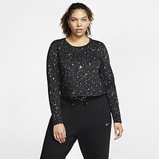 Nike Pro Warm Trainingstop voor dames (grote maten)