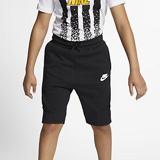 Nike Sportswear Tech Fleece Shorts para niños talla grande