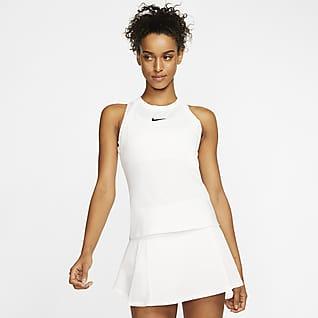 NikeCourt Dri-FIT Γυναικείο φανελάκι τένις
