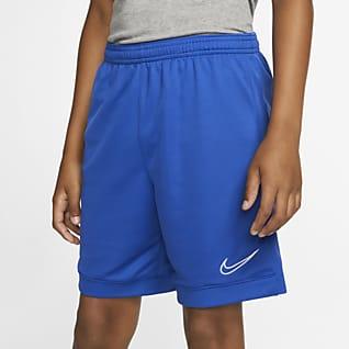 Nike Dri-FIT Academy Futballrövidnadrág nagyobb gyerekeknek