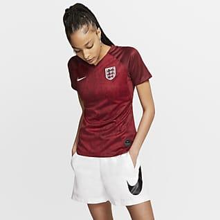 England 2019 Stadium Away Camiseta de fútbol - Mujer
