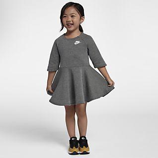 Nike Sportswear Tech Fleece Toddler Long-Sleeve Dress
