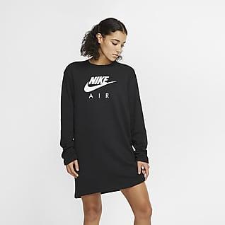 Nike Air Vestido de tejido Fleece para mujer
