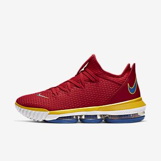 Nike Zoom Red Basketball Shoes