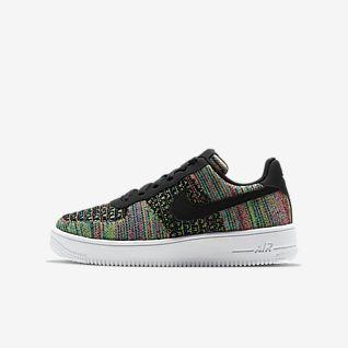 Nike Air Force 1 Flyknit 2.0 Chaussure pour Jeune enfant/Enfant plus âgé