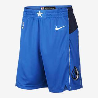Dallas Mavericks Icon Edition Short Nike NBA Swingman pour Homme