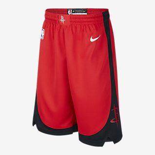 Nike NBA Swingman Rockets Icon Edition Older Kids' Shorts