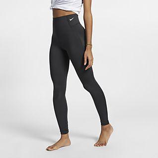 leggings donna fitness vita alta nike