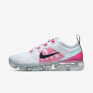 Nike Air Max 2019 Flyknit Black Rainbow Trainers For Sale