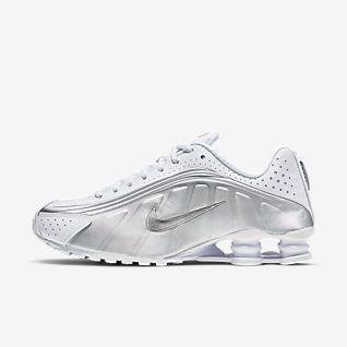 White Nike Shox Shoes. Nike.com