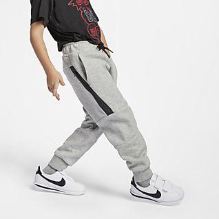 Nike Sportswear Tech Fleece Pantalones de entrenamiento para niños talla pequeña