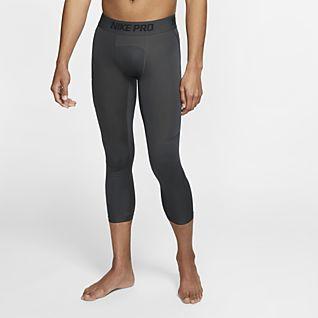 Nike Pro Mallas de básquetbol de 3/4 para hombre