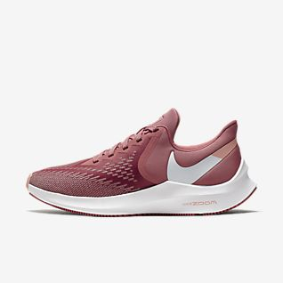 nike running red shoes