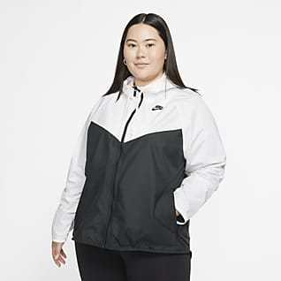 Nike Sportswear Windrunner Kadın Ceketi (Büyük Beden)