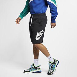 Nike Sportswear Alumni Pantalons curts de teixit French Terry - Home