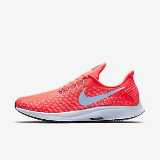 Men's Red Running Shoes. Nike SG