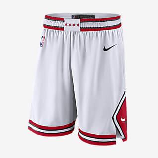 Chicago Bulls Association Edition Nike NBA Swingman Shorts für Herren