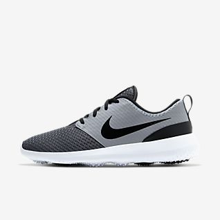 Niñas Niños Niños Zapatos Tenis Nike Roshe Run Zapatillas-Negro