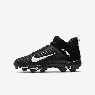Nike Alpha Menace 2 Shark (Wide) Little/Big Kids' Football Cleat