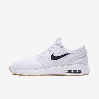 Damen Weiß Skate Schuhe. Nike DE