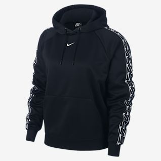 Nike Sportswear Sudadera con capucha sin cierre con logotipo para mujer
