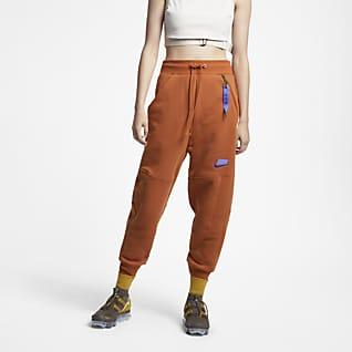 Nike Sportswear NSW Pantalones de entrenamiento de vellón para mujer