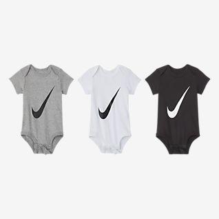 Nike Conjunto de bodies para bebé (0-6 M, embalagem de 3)