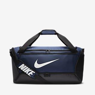 Nike Brasilia กระเป๋า Duffel เทรนนิ่ง (ขนาดกลาง)