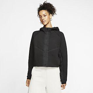 Nike Sportswear City Ready Fleece-Jacke mit durchgehendem Reißverschluss für Damen