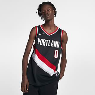 Damian Lillard Trail Blazers Icon Edition Men's Nike NBA Swingman Jersey