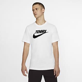 NikeCourt Dri-FIT Tee-shirt de tennis à motif pour Homme