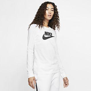 Women's Nike Air Ribbed Half Zip Long Sleeve Top| Finish Line