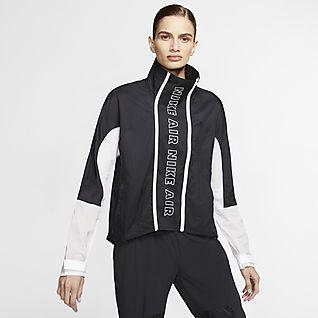 Nike Air Giacca da running con zip a tutta lunghezza - Donna