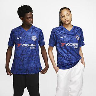 Chelsea FC 2019/20 Stadium (hjemmedrakt) Fotballdrakt til herre