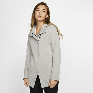 nike fleece manteau d'hiver nsw - noir/gris