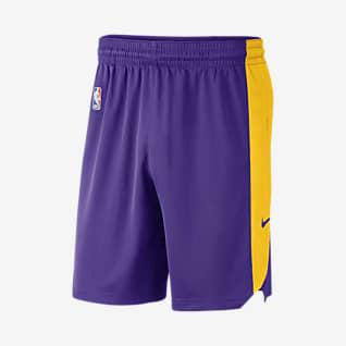 Los Angeles Lakers Nike Pantalons curts de l'NBA - Home