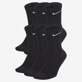 Nike Everyday Cushioned Training Crew sokker (6 par)
