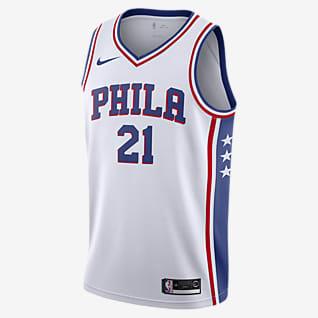 Joel Embiid 76ers Association Edition Nike NBA Swingman Jersey