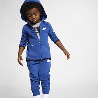 Nike Sportswear Tech Fleece Conjunto de pantalones de entrenamiento y sudadera con capucha para infantil