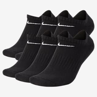 Nike Everyday Cushioned ถุงเท้าเทรนนิ่งแบบซ่อน (6 คู่)