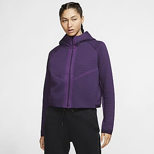 Nike Sportswear City Ready Chamarra de cierre completo de tejido Fleece para mujer