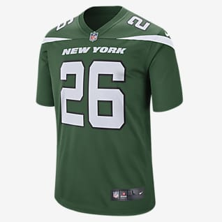NFL New York Jets (Le'Veon Bell) Men's Game Football Jersey