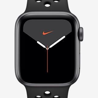 Apple Watch Nike Series 5 (GPS) 搭配 Nike Sport Band 44 毫米深空灰色铝金属表壳